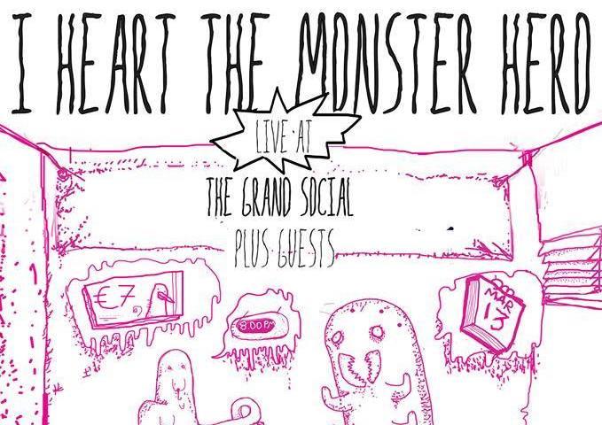 I Heart The Monster Hero