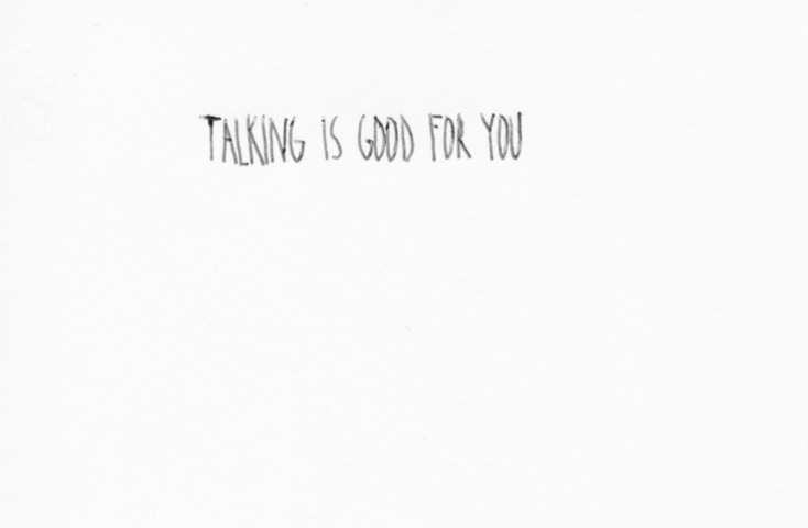 Talking Is Good For You