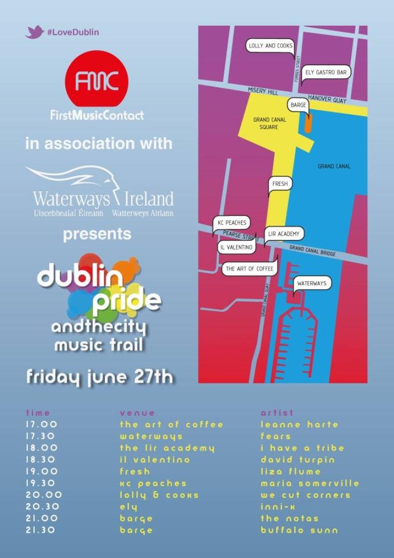 Dublin Pride & the City