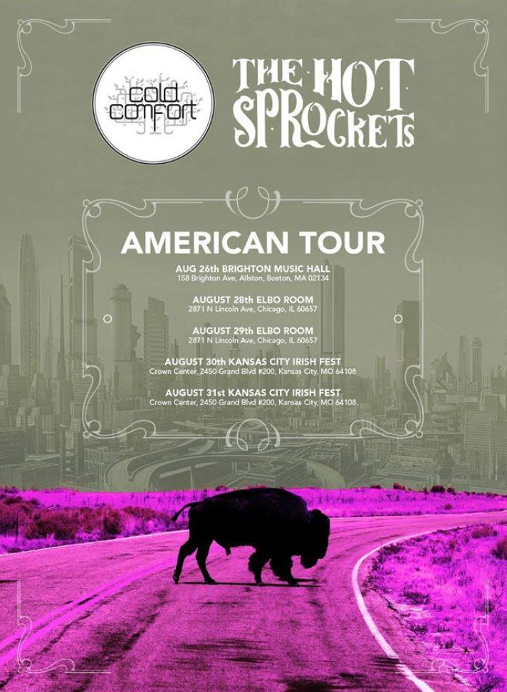 Hot Sprockets tour poster