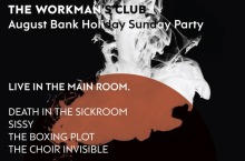 Workman's Club Bank Holiday Party