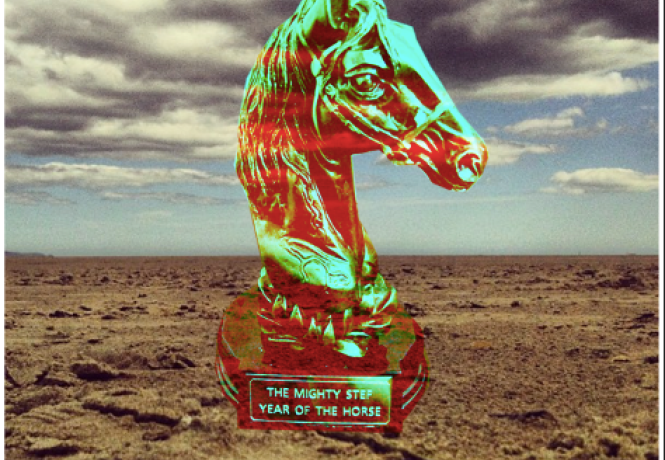 Year of the Horse album cover