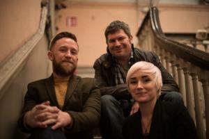 Dwayne Woods, Niamh Farrell, Gav Hennessy