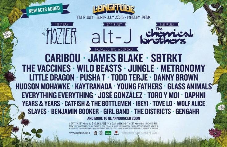 Longitude 2015 poster