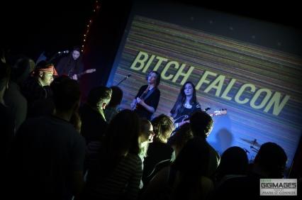 Bitch Falcon in The Sugar Club by Mark O' Connor (1 of 19)