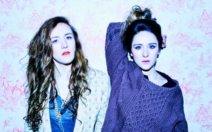 Maud and Zoe Ní Riordáin