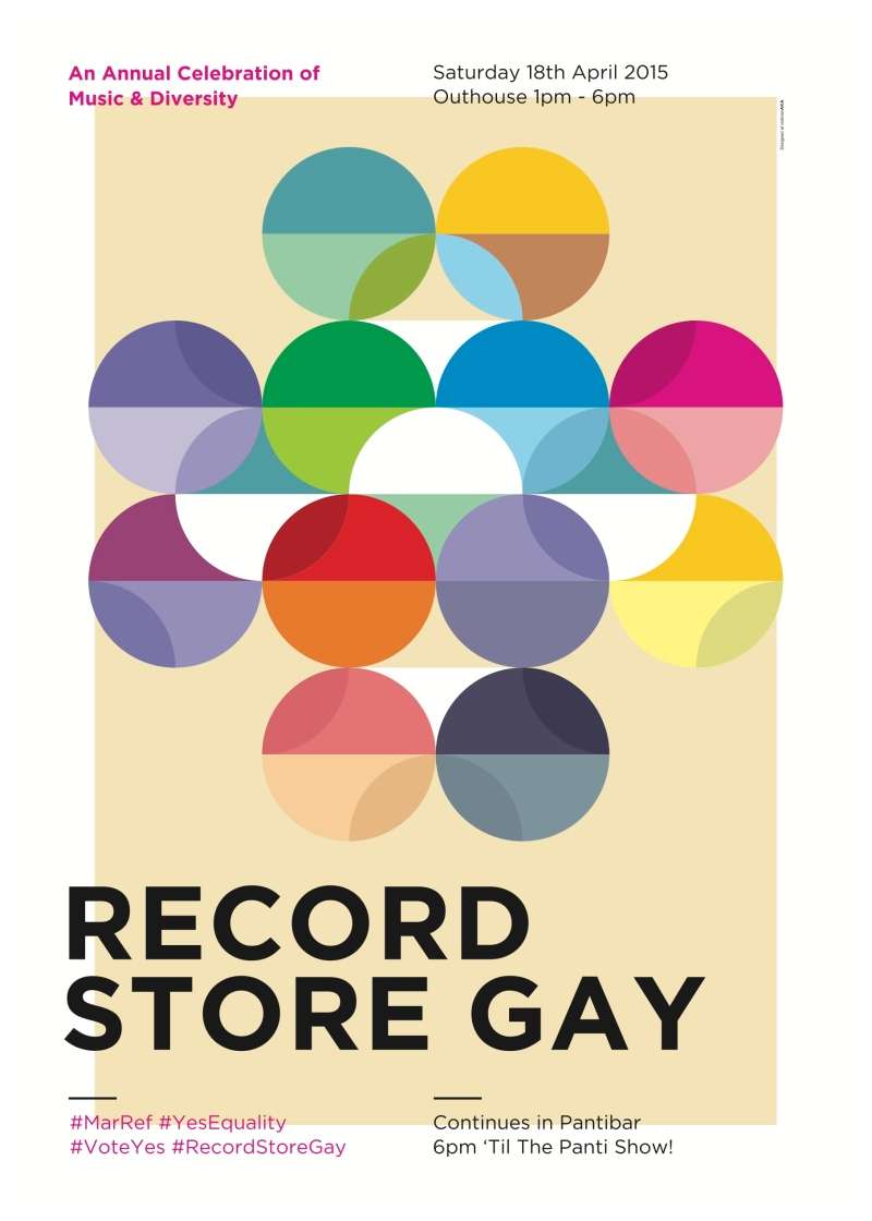 Record Store Gay poster