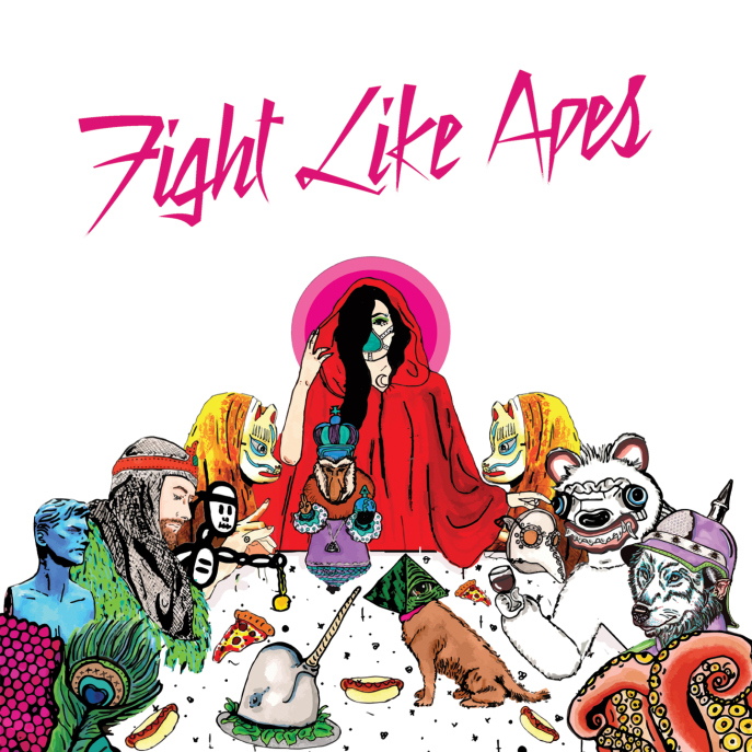 Fight Like Apes album cover 2015