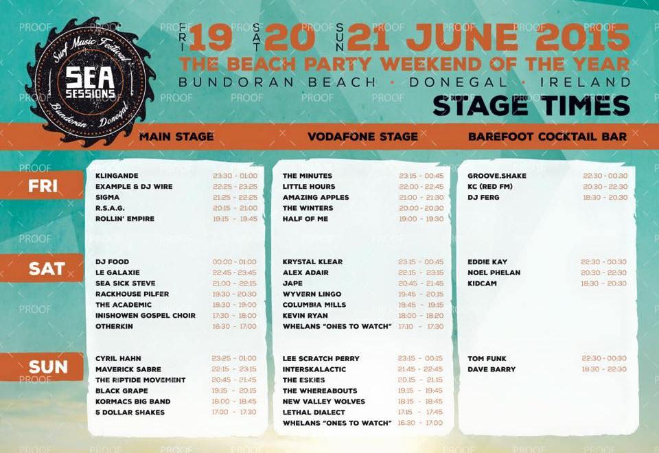 Sea Sessions surf & music festival