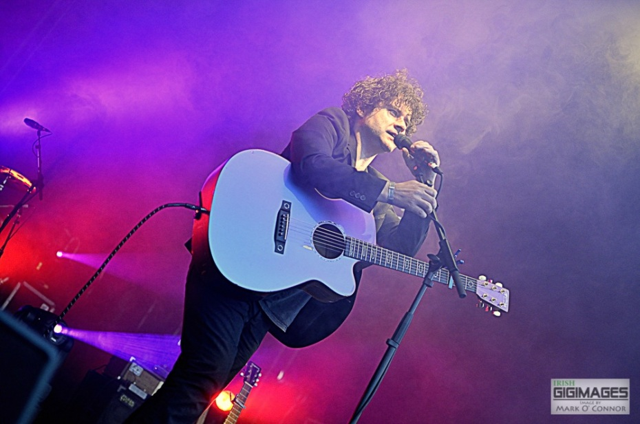 Paddy Casey performing at Leopardstown Race Course for Bulmers Live. Images by www.irishgigimages.com (Mark O' Connor)