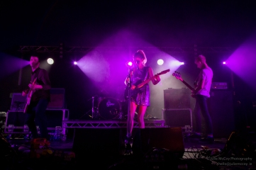 Wolf Alice at Longitude 2015 - Julie McCoy Photography- All Rights Reserved