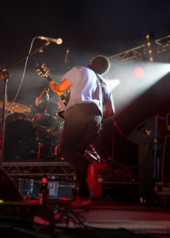 Benjamin Booker at Longitude 2015 photo by Julie McCoy Photography