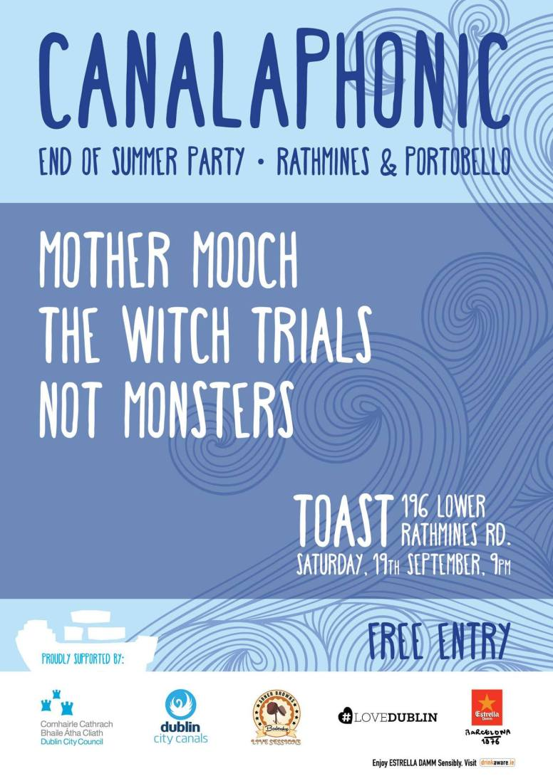 Poster for Mother Mooch & more at Toast