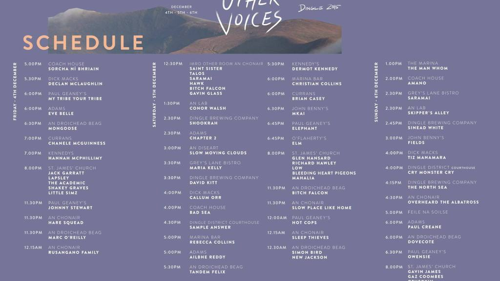 Other Voices 2015