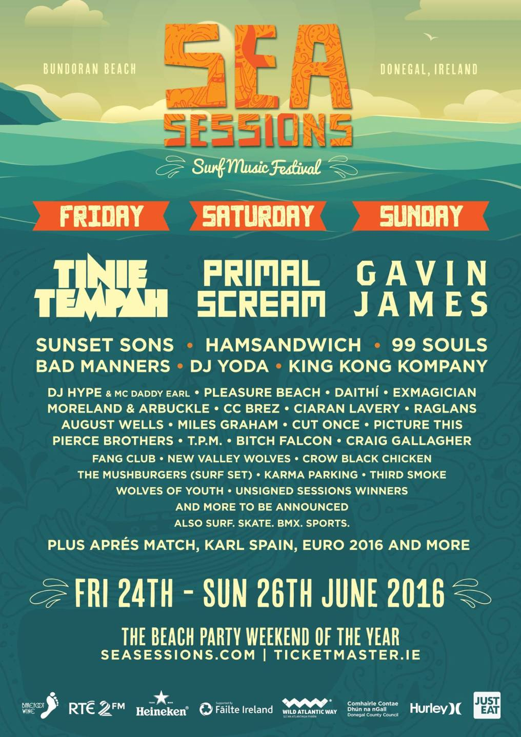 Sea Sessions music & surf festival