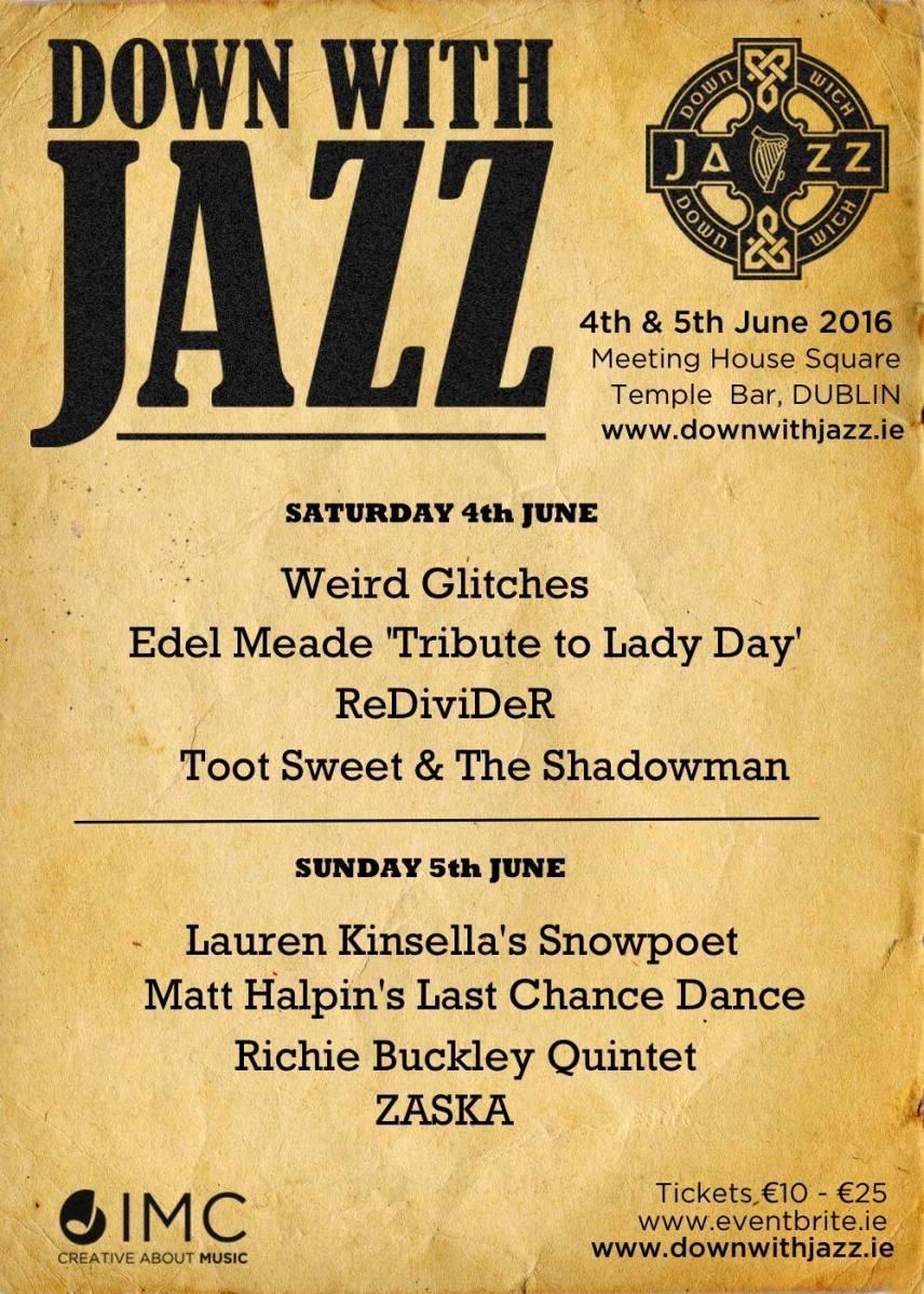 Down With Jazz Dublin