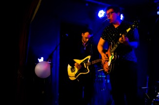 Land Lovers live at the Workman's Club (photo by Stephen White)