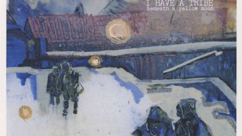 ihat beneath a yellow moon album cover