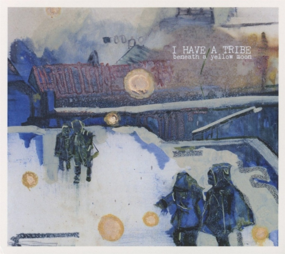 ihat beneath a yellow moon album cover