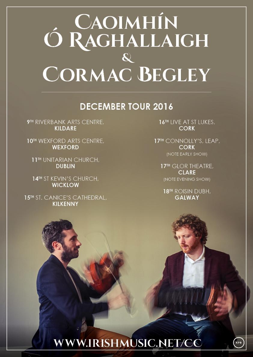 Caoimhín Ó Raghallaigh and Cormac Begley Poster