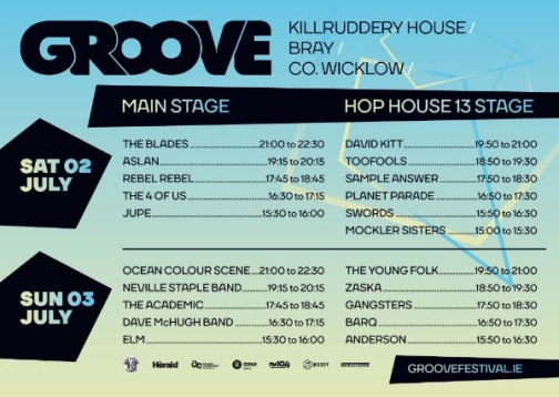 Groove festival 2016 stage times