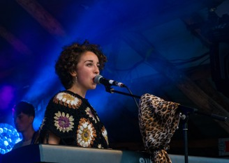 Farah Elle at Knockanstockan 2016 (photo by Stephen White) 8