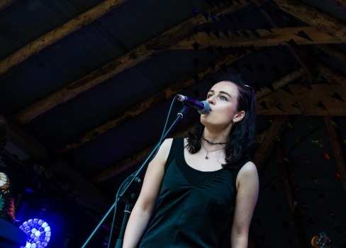 Farrah Elle at Knockanstockan 2016 (photo by Stephen White) 1