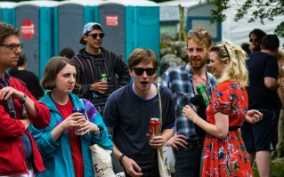Land Lovers at Knockanstockan 2016 (photo by Stephen White) 1