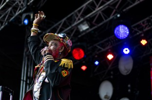 Lee Scratch Perry at The Beatyard 2016 (Photo by Stephen White) 1