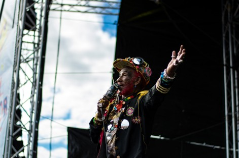 Lee Scratch Perry at The Beatyard 2016 (Photo by Stephen White) 3