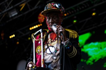 Lee Scratch Perry at The Beatyard 2016 (Photo by Stephen White) 4