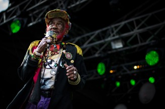Lee Scratch Perry at The Beatyard 2016 (Photo by Stephen White) 6