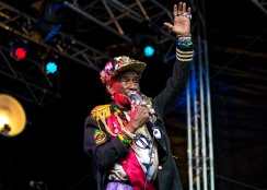 Lee Scratch Perry at The Beatyard 2016 (Photo by Stephen White) 9