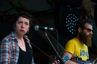 Lisa O'Neill at Knockanstockan 2016 (photo by Stephen White) 5