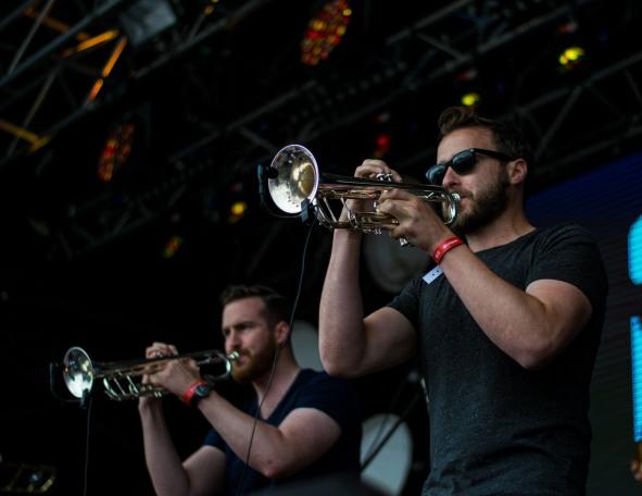 Stomptown Brass at The Beatyard 2016 (Photo by Stephen White) 10