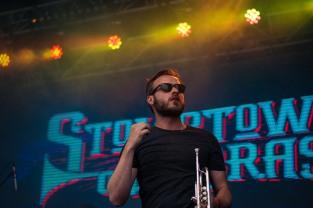 Stomptown Brass at The Beatyard 2016 (Photo by Stephen White) 2