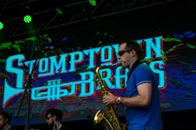 Stomptown Brass at The Beatyard 2016 (Photo by Stephen White) 3