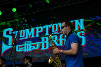 Stomptown Brass at The Beatyard 2016 (Photo by Stephen White) 3