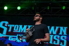 Stomptown Brass at The Beatyard 2016 (Photo by Stephen White) 4