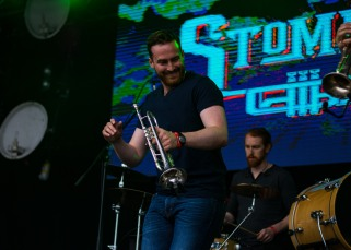 Stomptown Brass at The Beatyard 2016 (Photo by Stephen White) 5