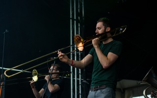 Stomptown Brass at The Beatyard 2016 (Photo by Stephen White) 7
