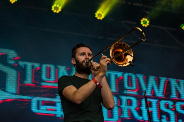 Stomptown Brass at The Beatyard 2016 (Photo by Stephen White) 9