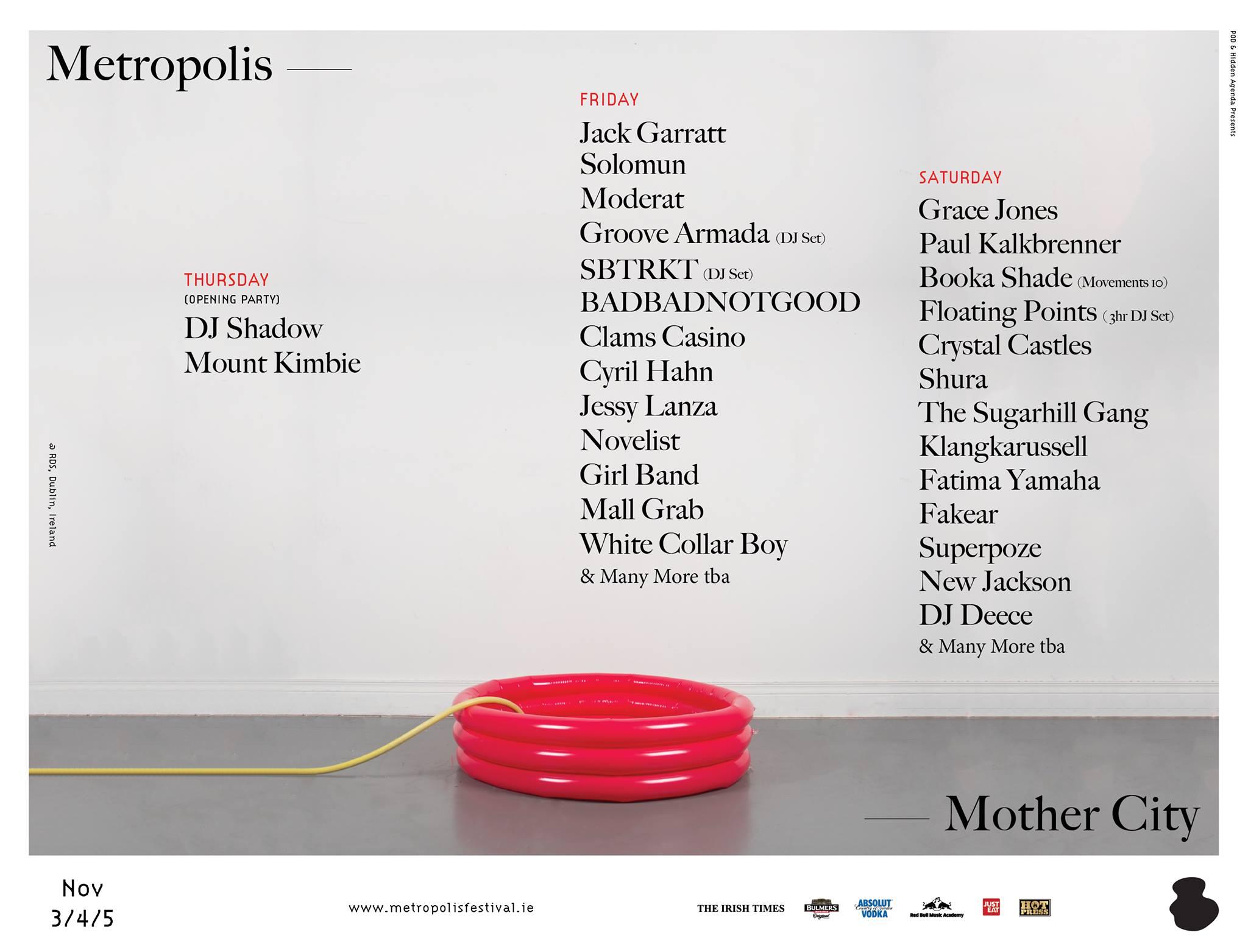 Playlist | TLMT's Metropolis 2016 Mixed-Tape – The Last