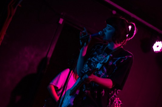 Dilly Dally at the Workman's Club (photo by Stephen White) 13