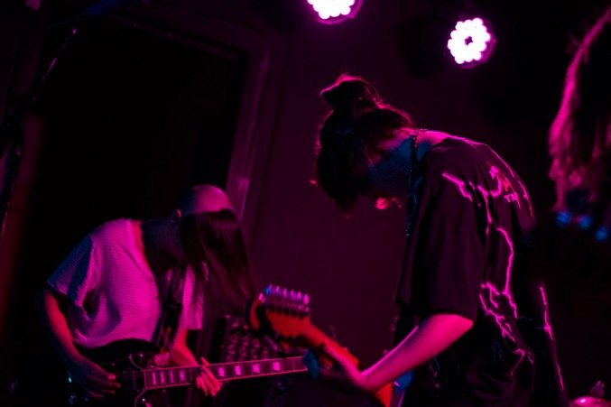 Dilly Dally at the Workman's Club (photo by Stephen White) 8