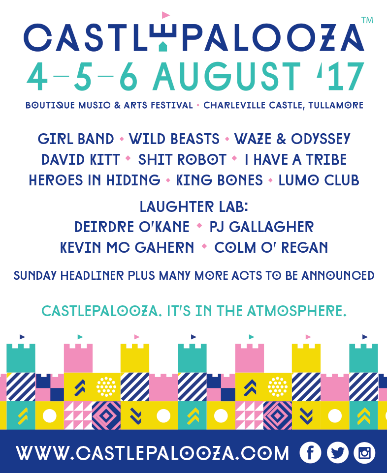 Castlepalooza 2017 line-up
