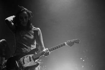 Warpaint Vicar Street Dublin (photo by Stpehen White) 15