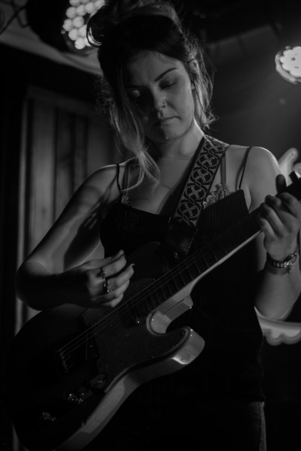 Honeyblood in Whelan's April 2017 (Photo by Stephen White) 13