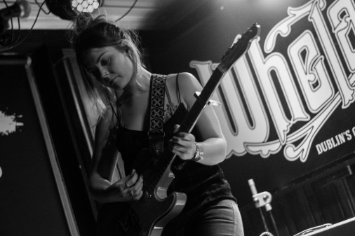 Honeyblood in Whelan's April 2017 (Photo by Stephen White) 15