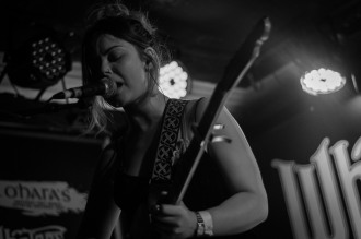 Honeyblood in Whelan's April 2017 (Photo by Stephen White) 16